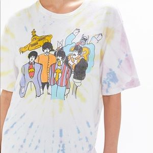 The Beatles Yellow submarine tee xs NWT